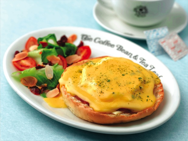 Coffee Bean Eggs Benedict
